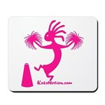 Kokopelli Cheerleader Mousepad