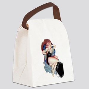 You Ought To Be In Pictures Canvas Lunch Bag