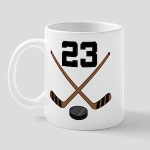 Hockey Player Number 23 Mug