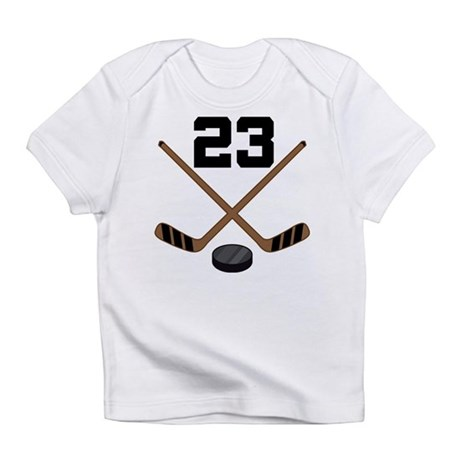 Hockey Player Number 23 Infant T-Shirt