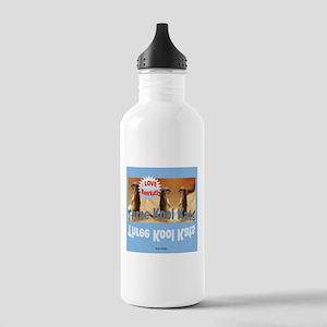 Three Kool Kats Stainless Water Bottle 1.0L