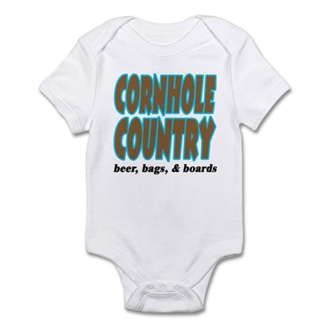 Cornhole Country Infant Bodysuit
