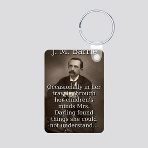 Occasionally In Her Travels - J M Barrie Aluminum
