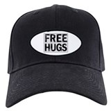 Free hugs Baseball Cap with Patch
