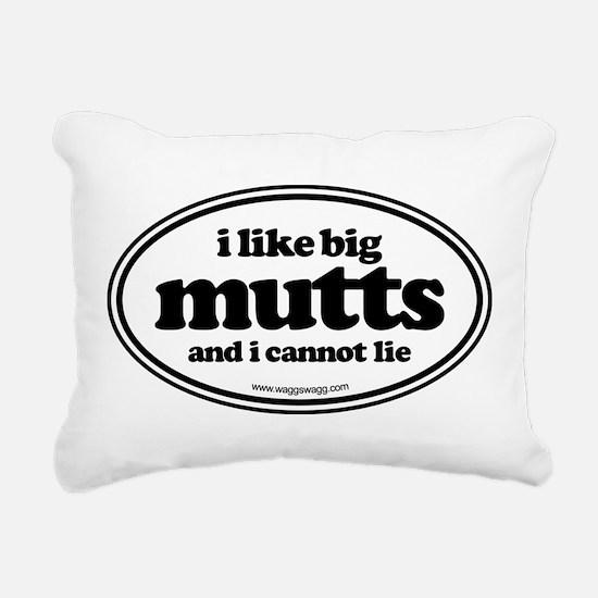 I Like Bit Mutts And I Cannot Lie Rectangular Canv