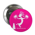 Kokopelli Cheerleader Button
