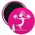 Kokopelli Cheerleader Magnet