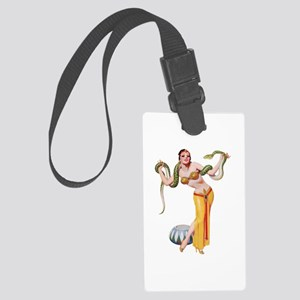 Pin-Up Girl Large Luggage Tag