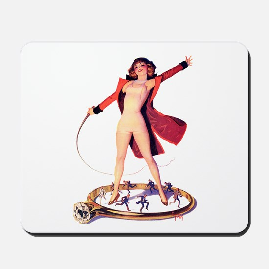 Pin-Up Girl Mousepad