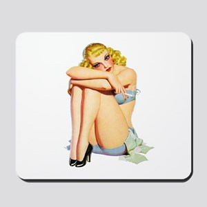 Pin-Up Girl Mousepad