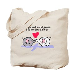 All you touch Tote Bag