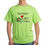 All you touch Green T-Shirt