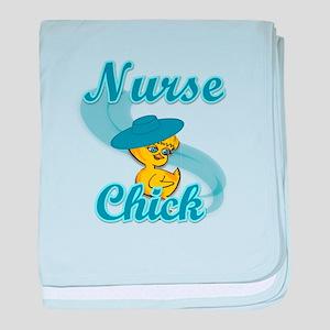 Nurse Chick #3 baby blanket