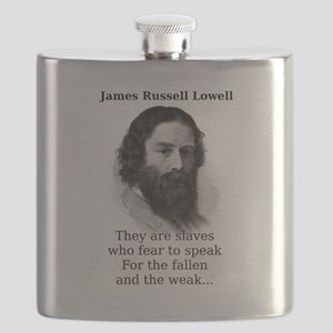 They Are Slaves Who Fear - James Russell Lowell Fl