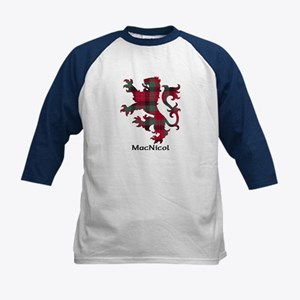 Lion - MacNicol Kids Baseball Jersey