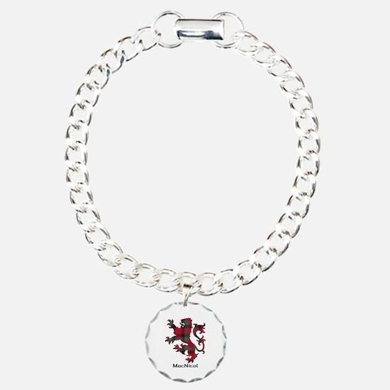 Lion - MacNicol Charm Bracelet, One Charm