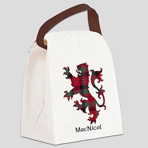Lion - MacNicol Canvas Lunch Bag