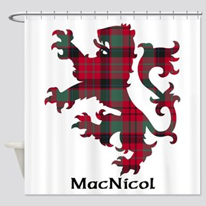 Lion - MacNicol Shower Curtain