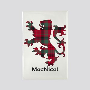 Lion - MacNicol Rectangle Magnet