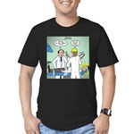 No Cavities? Men's Fitted T-Shirt (dark)
