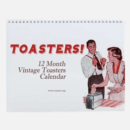 Toasters Wall Calendar
