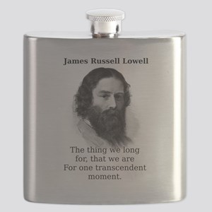 The Thing We Long For - James Russell Lowell Flask