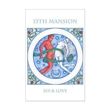 13th Mansion Sex and Love Talisman Mini Poster