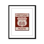 Victorville Route 66 Framed Panel Print
