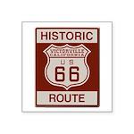 Victorville Route 66 Square Sticker 3