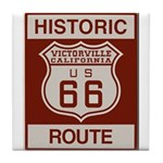 Victorville Route 66 Tile Coaster