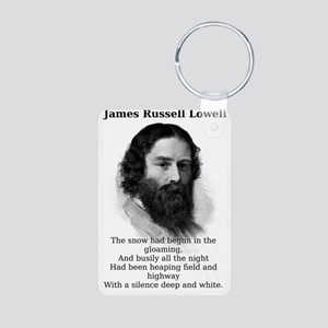 The Snow Had Begun - James Russell Lowell Aluminum