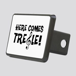 Here Comes Treble Rectangular Hitch Cover