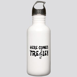 Here Comes Treble Stainless Water Bottle 1.0L