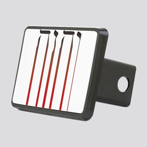 YHWH Bleed Rectangular Hitch Cover