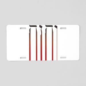 YHWH Bleed Aluminum License Plate