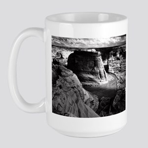 Ansel Adams Arizona Canyon Large Mug