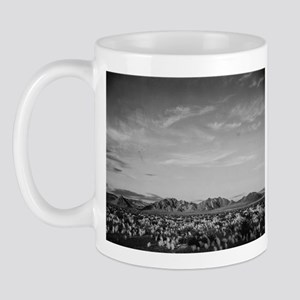 Ansel Adams Distant View of Mountains Mug