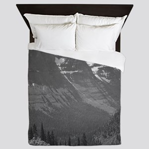 Ansel Adams Glacier National Park Queen Duvet