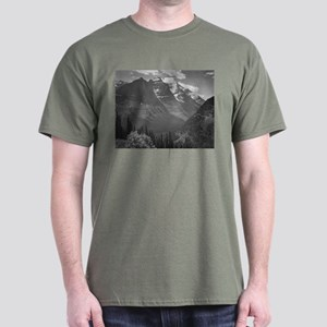 Ansel Adams Glacier National Park Dark T-Shirt