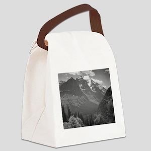 Ansel Adams Glacier National Park Canvas Lunch Bag