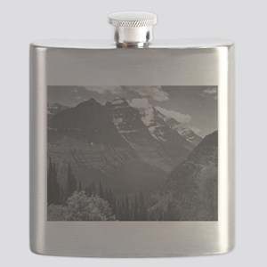 Ansel Adams Glacier National Park Flask