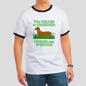 Grass Is Greener Under My Wiener! Ringer T