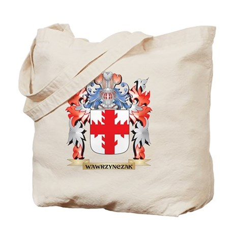 Wawrzynczak Coat of Arms - Family Crest Tote Bag