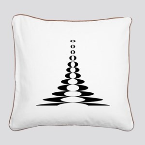 KITARO Ku-Kai Square Canvas Pillow