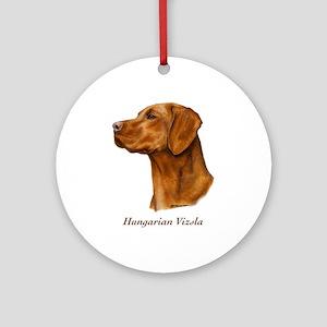 Hungarian Vizsla Ornament (Round)