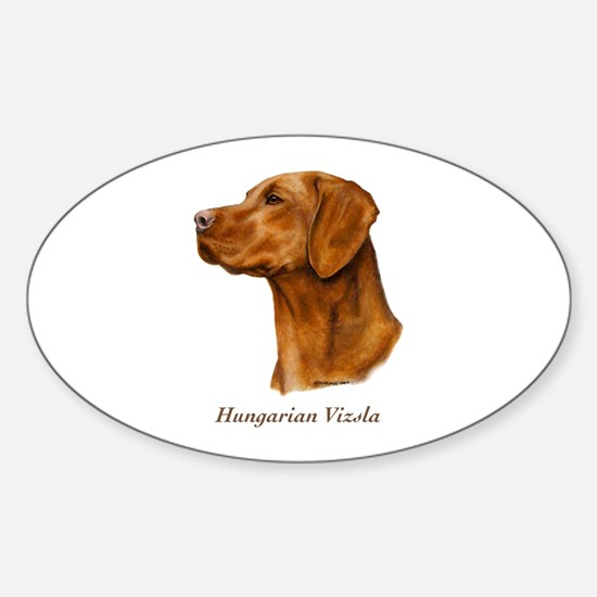 Hungarian Vizsla Sticker (Oval)