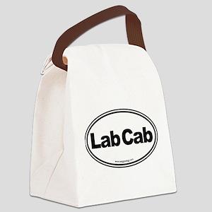 Lab Cab Canvas Lunch Bag