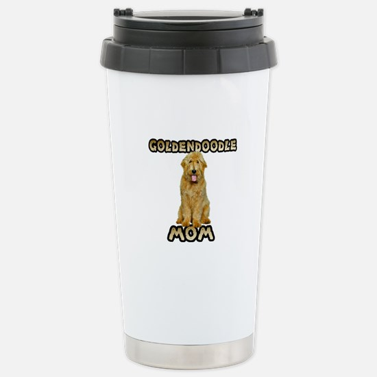 Goldendoodle Mom Stainless Steel Travel Mug