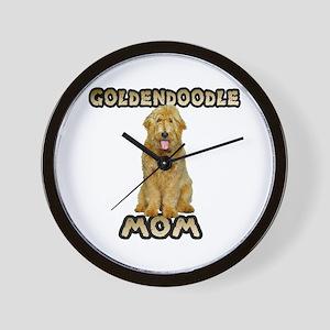 Goldendoodle Mom Wall Clock