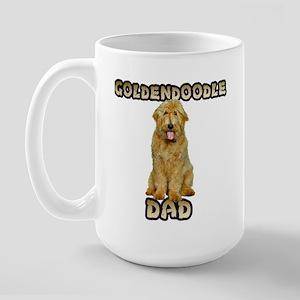 Goldendoodle Dad Large Mug